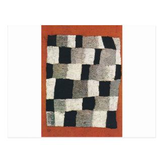 Carte Postale Rythmique (rythmique) par Paul Klee