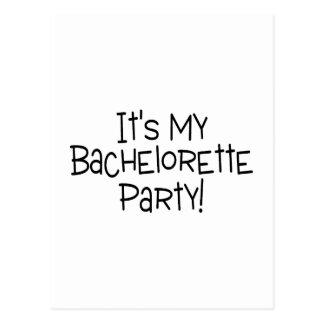 Carte Postale Sa ma partie de Bachelorette