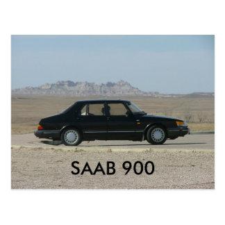 CARTE POSTALE SAAB 900