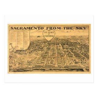 Carte Postale Sacramento du ciel, 1923