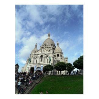 Carte Postale Sacre Coeur Montmartre Paris