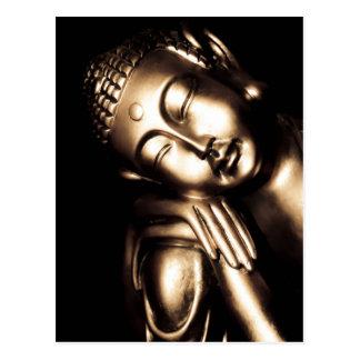 Carte Postale Sagesse thaïlandaise de Bouddha