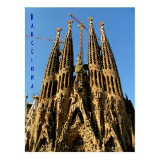 Carte Postale Sagrada Familia