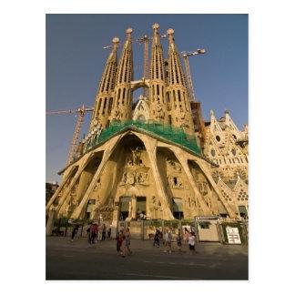Carte Postale Sagrada Familia de Barcelone