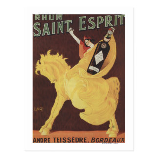 Carte Postale Saint Esprit de Rhum - promo d'André Teissedre