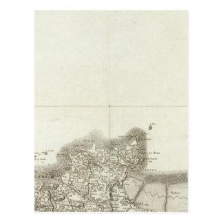 Carte Postale Saint Malo, Granville