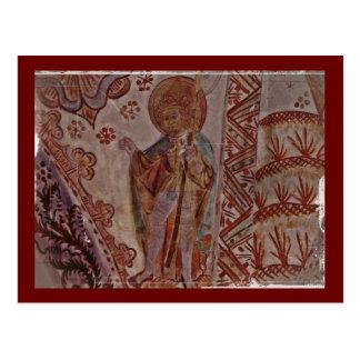 Carte Postale Saint Olaf de la Norvège
