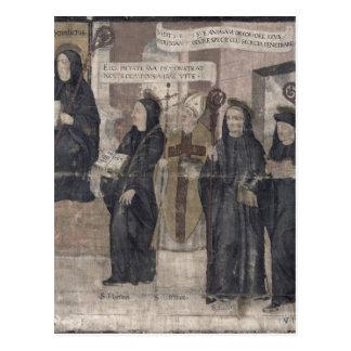 Carte Postale Saint Robert et divers Bénédictin