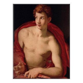 Carte Postale Saint SebastiAn-Agnolo Bronzino