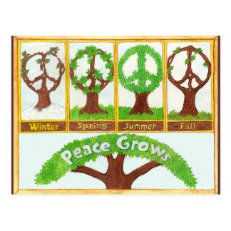 Carte Postale Saisons de paix