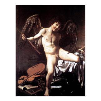Carte Postale SAL Sieger um 1600 de Michaël Angelo DA Caravaggio