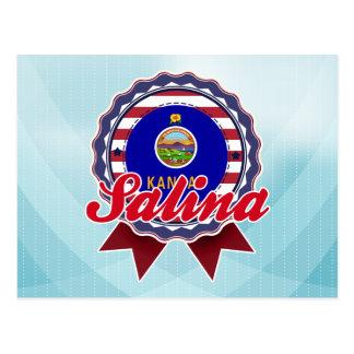 Carte Postale Saline, KS