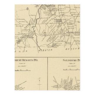Carte Postale Salisbury, Merrimack Co