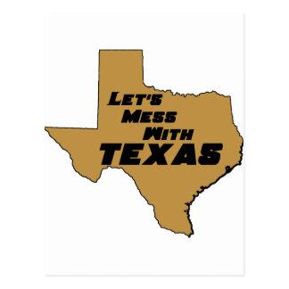 Carte Postale Salissons avec le Texas Brown