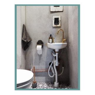 Carte Postale Salle de bains géniale