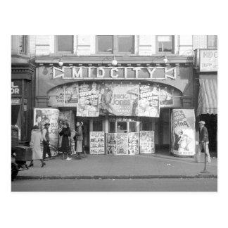 Carte Postale Salle de cinéma de Midcity, 1937