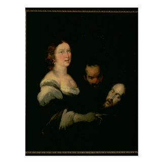 Carte Postale Salome avec la tête de St John le baptiste