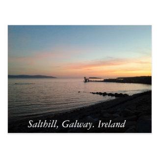 Carte Postale Salthill, Galway, Irlande