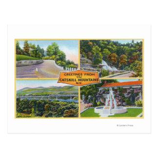 Carte Postale Salutation de avec des vues pittoresques