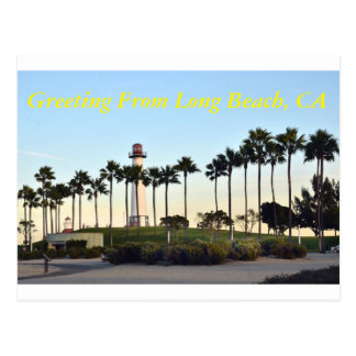 Carte Postale Salutation de Long Beach CA