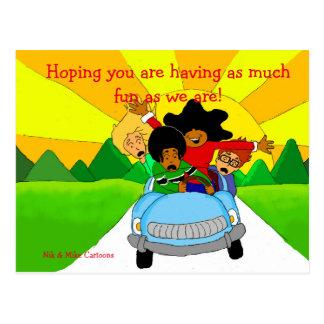 Carte Postale Salutations
