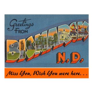 Carte Postale Salutations de Bismark
