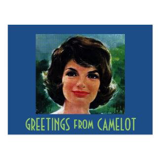 Carte Postale SALUTATIONS de CAMELOT