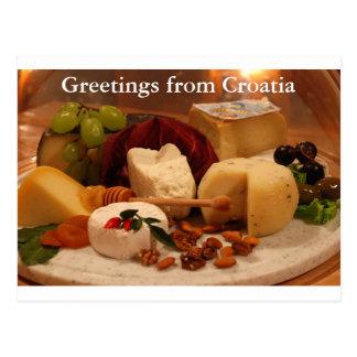 Carte Postale Salutations de Croatie