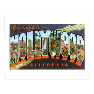 Carte Postale Salutations de Hollywood !