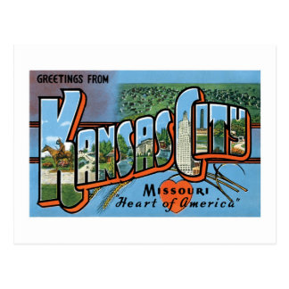Carte Postale Salutations de Kansas City !