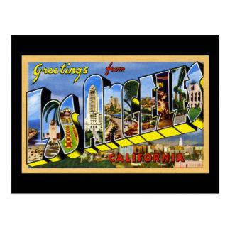 Carte Postale Salutations de Los Angeles la Californie