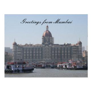 Carte Postale salutations de Mumbai