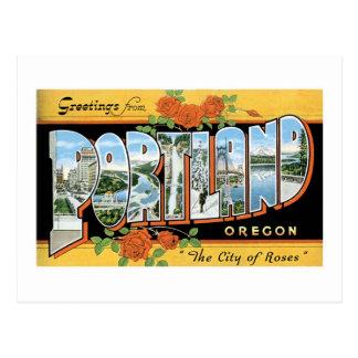 Carte Postale Salutations de Portland, Orégon !
