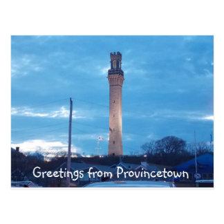 Carte Postale Salutations de Provincetown 2