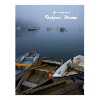 Carte Postale Salutations de Rockport, Maine !