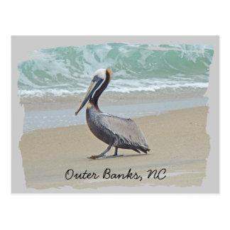 Carte Postale Salutations des banques externes OBX OR