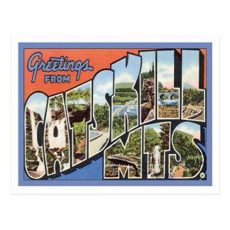 Carte Postale Salutations des montagnes de Catskill NY
