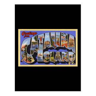 Carte Postale Salutations d'île de Catalina