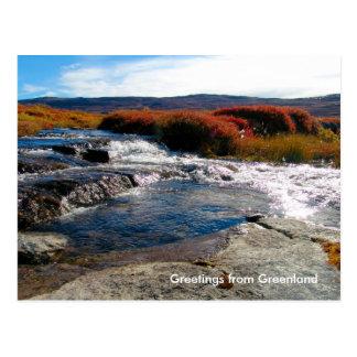 Carte Postale Salutations du Groenland 17