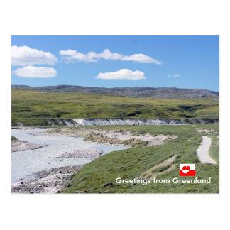Carte Postale Salutations du Groenland 224