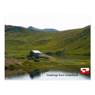 Carte Postale Salutations du Groenland 4