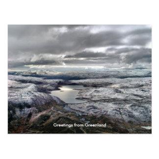 Carte Postale Salutations du Groenland 6