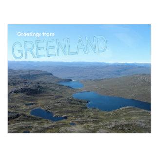 Carte Postale Salutations du Groenland 7