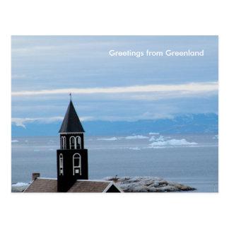 Carte Postale Salutations du Groenland 8