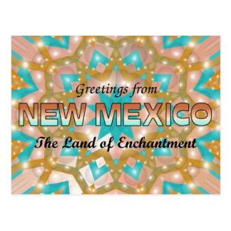 Carte Postale Salutations du Nouveau Mexique