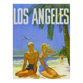 Carte Postale Salutations ensoleillées de Los Angeles