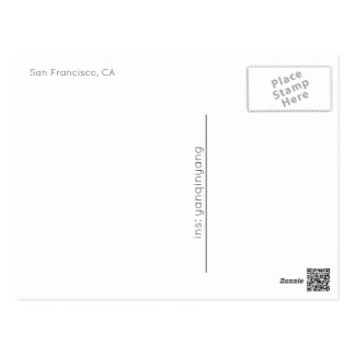 Carte Postale San Francisco 2016