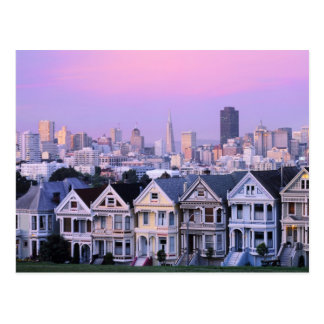 Carte Postale San Francisco, la Californie. Vue de victorien