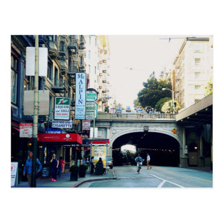 Carte Postale San Francisco : Tunnels