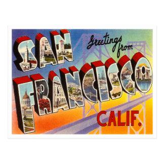 Carte Postale San Francisco vintage